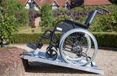 Оборудование помещений для инвалидов. Поручни и пандусы