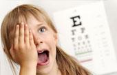 Причины нарушения зрения у ребенка