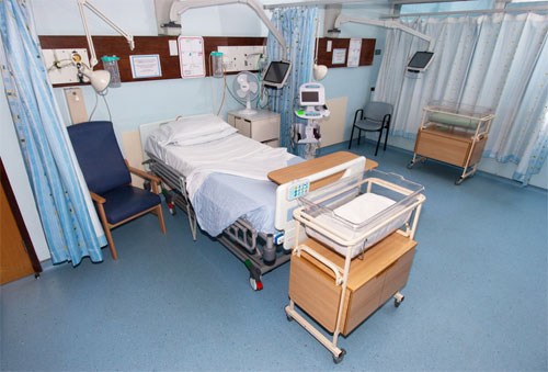 Обустройство и гигиена больничных палат