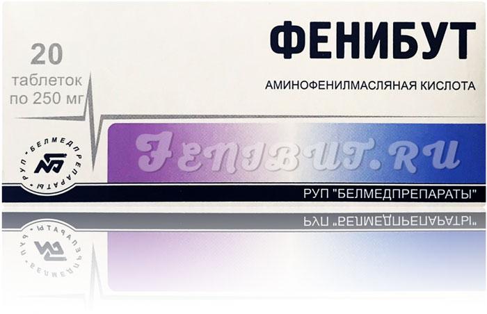 Полезные свойства препарата Фенибут