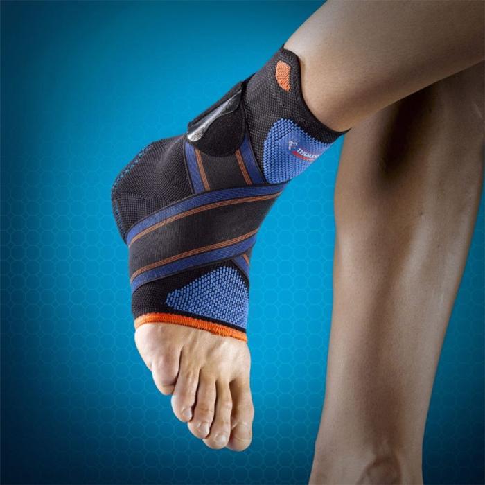 Как использовать ортезы для голеностопных суставов